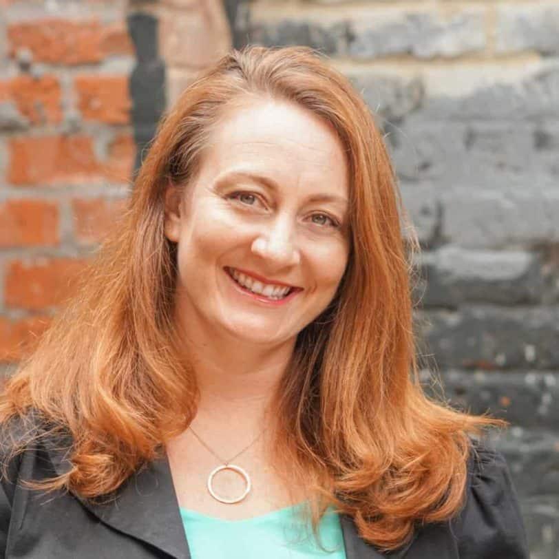 Sara Neal smiles