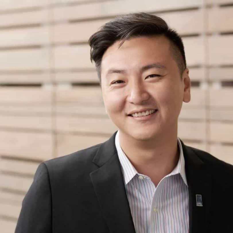 Chong-Hao Fu smiles