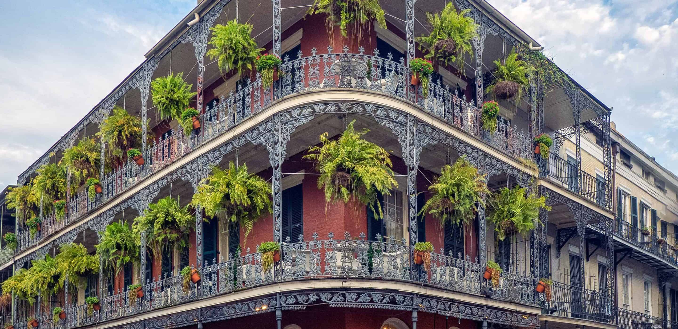 Three-story building in New Orleans, Louisiana