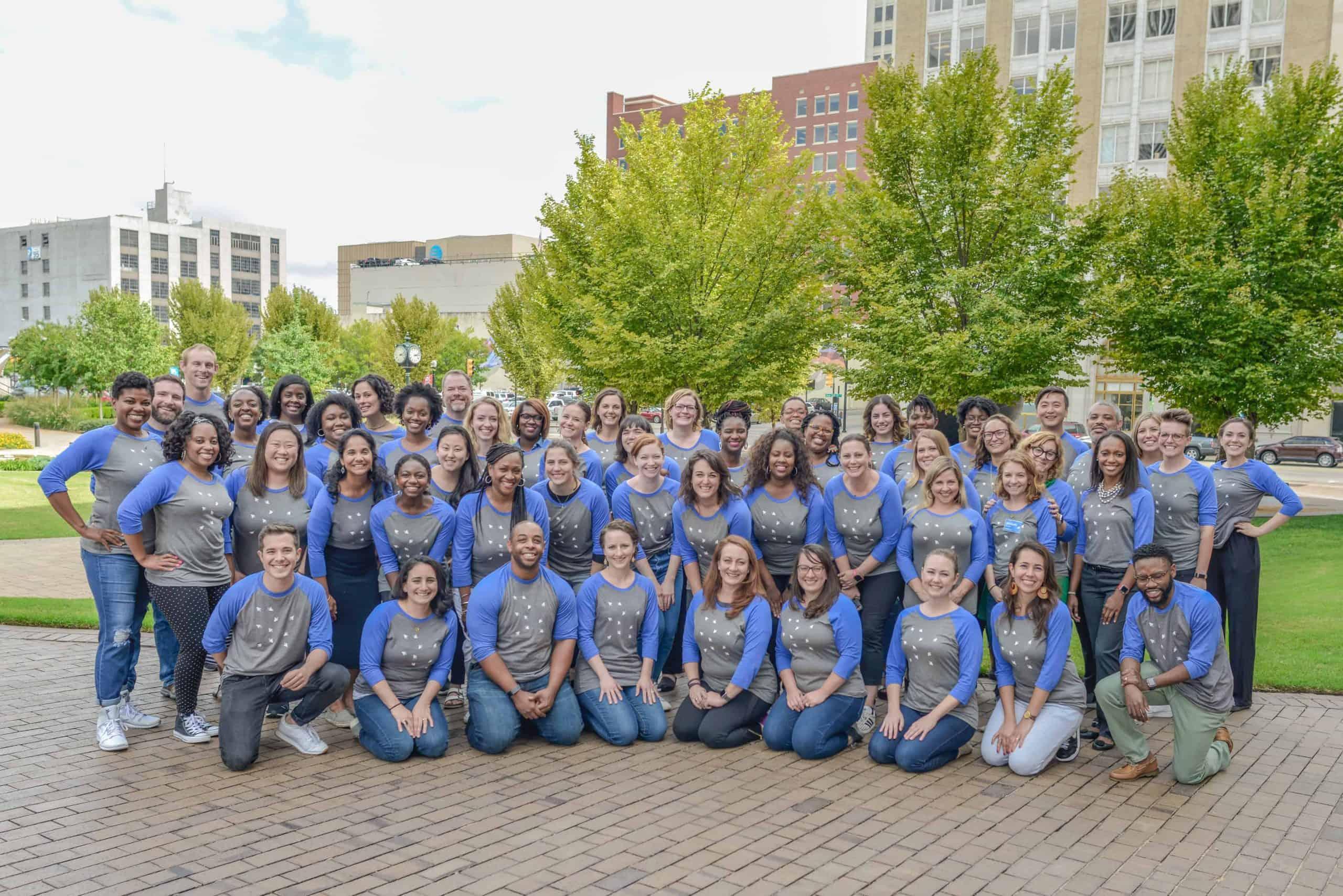 Photo of Leading Educators team