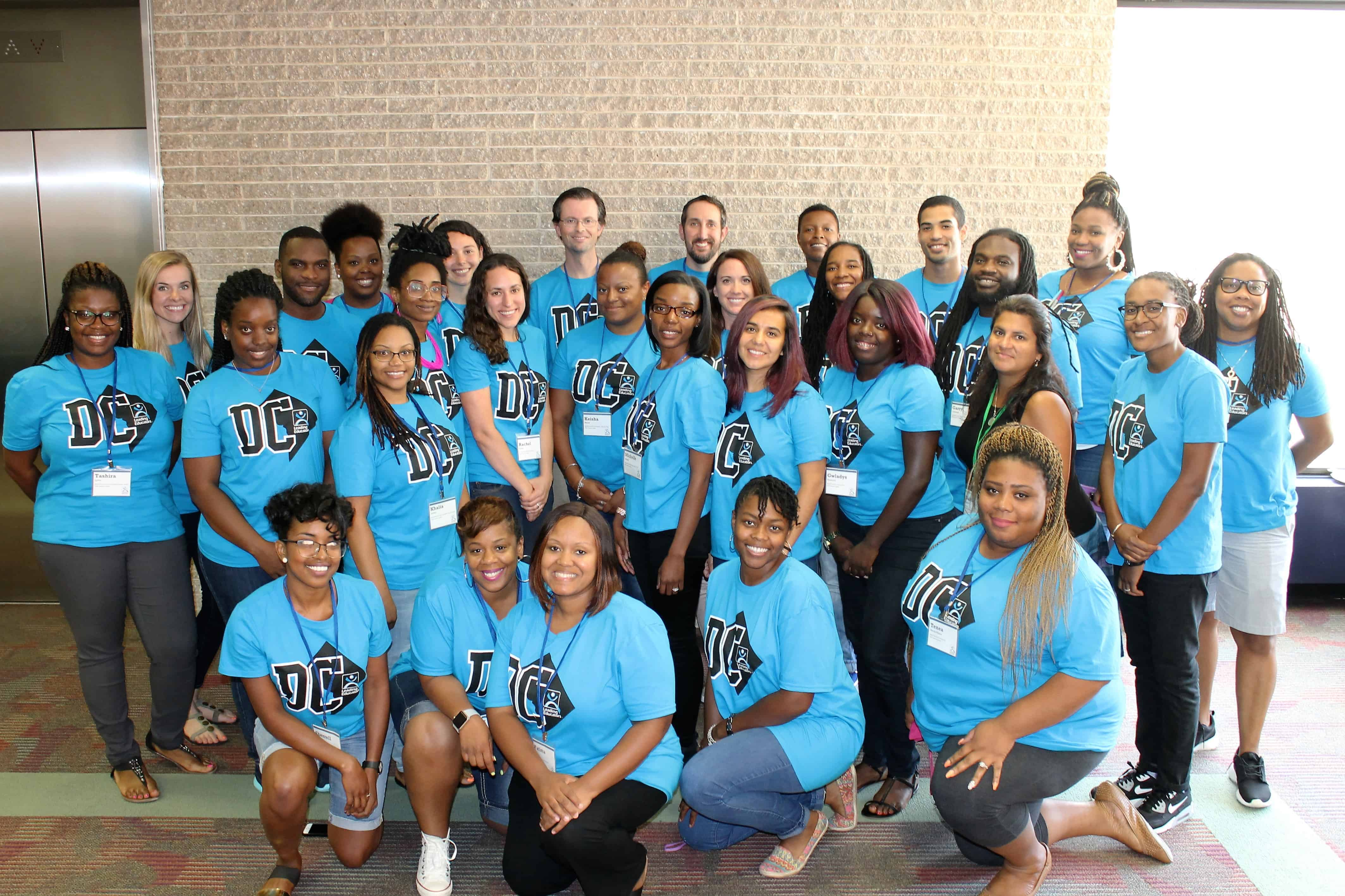 Group photo of DC Fellows at Summer Intensive