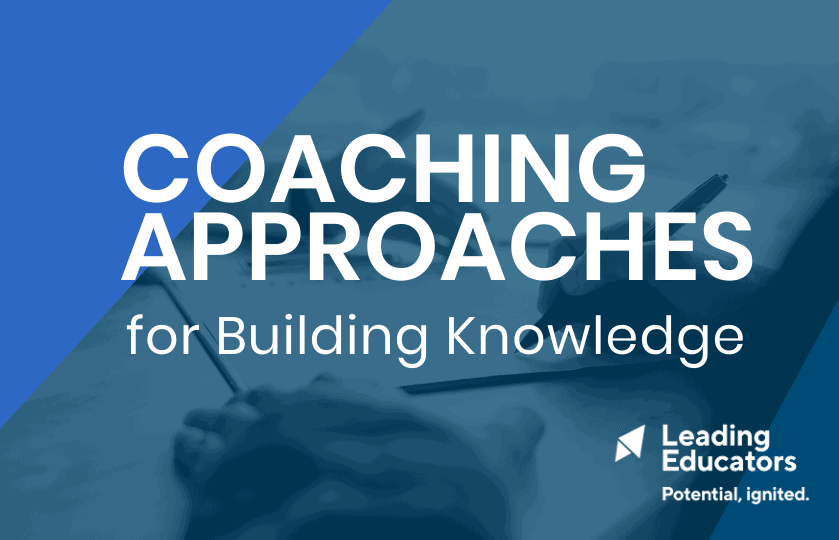 cover of coaching approaches tool