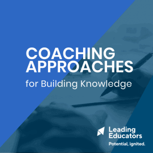 Coaching Approaches cover