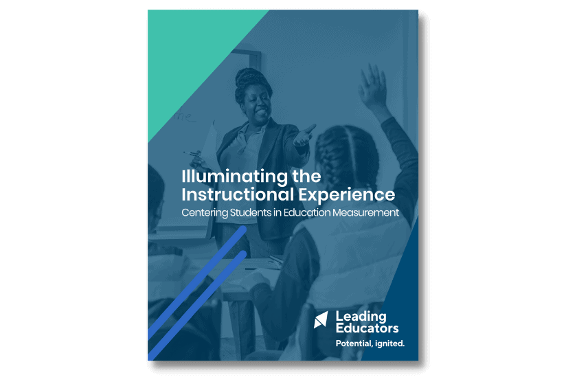illuminating the instructional experience cover with shadow